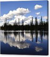 Clearwater Reflections Canvas Print