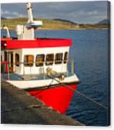 Cleggan Pier, Connemara County Galway Canvas Print