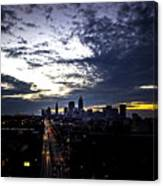 Cleveland At Dusk Canvas Print