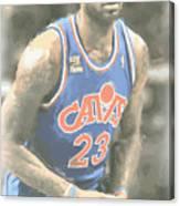 Cleveland Cavaliers Lebron James 1 Canvas Print