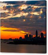 Cleveland Dawn Canvas Print