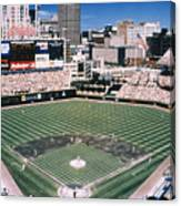 Cleveland: Jacobs Field Canvas Print
