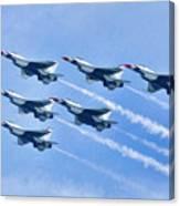 Cleveland National Air Show - Air Force Thunderbirds - 1 Canvas Print