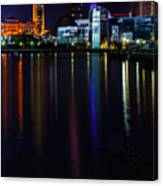 Cleveland Nightly Reflections Canvas Print