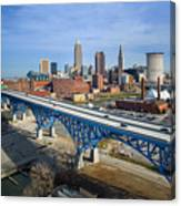 Cleveland Skyline #1 Canvas Print