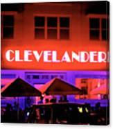 Clevelander Hotel Ocean Boulevard Miami Beach Canvas Print