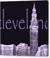 Cleveland's Landmark II Canvas Print