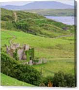 Clifden Castle Canvas Print