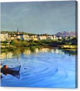 Clifden Harbour Canvas Print