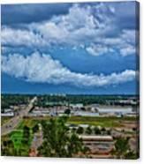 Cliff Avenue Storm Clouds Canvas Print