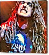Cliff Burton Portrait Canvas Print