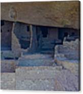 Cliff Dwellers Panoramic Canvas Print