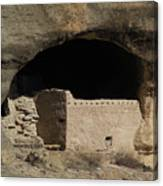 Cliff Dwelling Of Gila Canvas Print