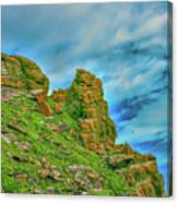 Cliff #h0 Canvas Print