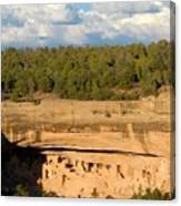 Cliff Palace Landscape Canvas Print