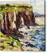 Cliff Canvas Print