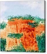 Cliffdwellers Canvas Print