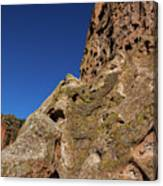 Cliffs At Bandelier Canvas Print