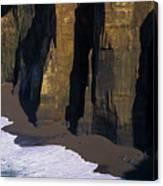 Cliffs At Blacklock Point Canvas Print