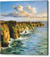 Cliffs Of Mohar 2 Canvas Print