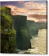 Cliffs Of Moher - 2 Canvas Print