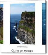 Cliffs Of Moher Ireland Triptych Canvas Print