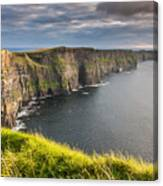 Cliffs Of Moher On The West Coast Of Ireland Canvas Print