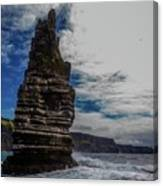 Cliffs Of Moher Stack Canvas Print