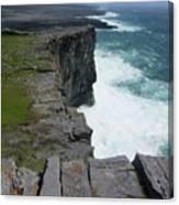 Cliffs Of The Aran Islands 5 Canvas Print