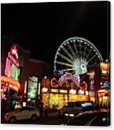 Clifton Hill At Night Canvas Print
