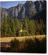 Climber Rescue Operation In Yosemite Canvas Print