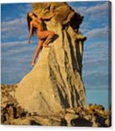 Climbing Canvas Print