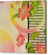 Climbing The Ladder Of Success Canvas Print