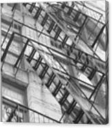 Climbing Up Canvas Print