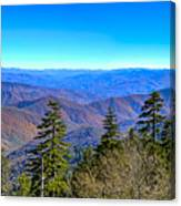 Clingmans Dome Panorama Canvas Print