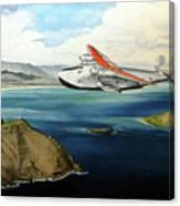 Clipper at the Makapu'u Light Canvas Print