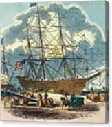 Clipper: Flying Cloud, 1851 Canvas Print