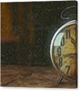 Clock - Id 16218-130715-1843 Canvas Print