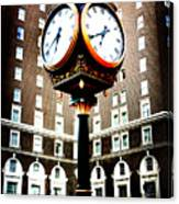 Clock Canvas Print