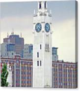 Clock Tower Montreal 2 Canvas Print