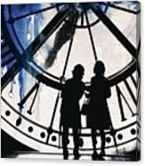 Clock Watching Canvas Print