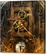 Clockmaker - A Sharp Looking Time Piece Canvas Print