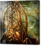 Clockmaker - The Day Time Stood Still  Canvas Print