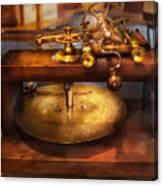 Clocksmith - The Gear Cutting Machine  Canvas Print