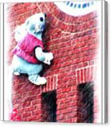 Clocktower Mouse Canvas Print