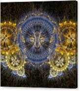 Clockwork Butterfly Canvas Print