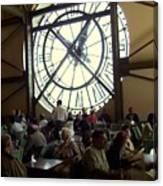 Clockwork Cafe Canvas Print