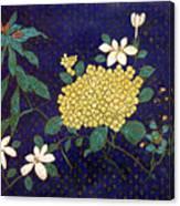 Cloisonee' Flower Canvas Print
