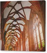 Cloisters Of Basel Munster Switzerland  Canvas Print