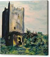 Clonony Castle Canvas Print